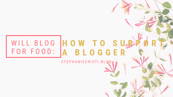 Not everyone understands blogging, but if you want to support a blogger, StephanieCristi details 9 easy ways you can show them some cyber love!