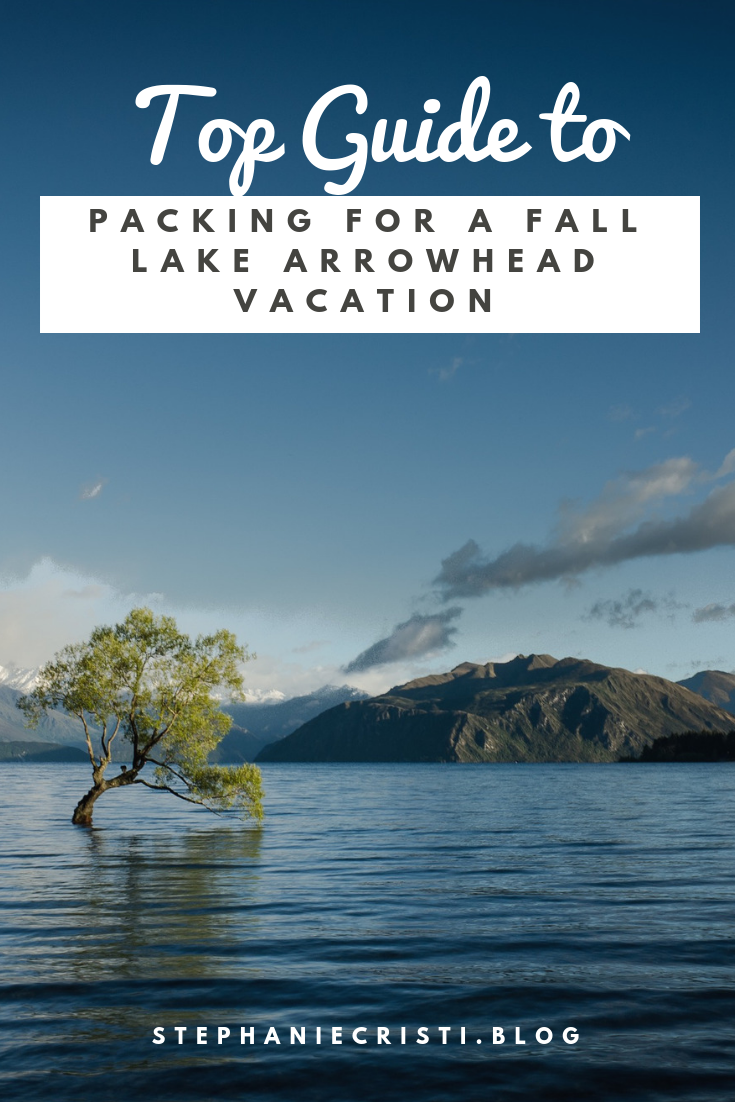 When it comes to packing for a Fall Lake Arrowhead vacation, don't just assume you've got it! Be sure to check out this blog post for tips from a local.