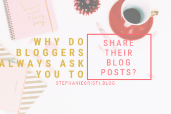 """For those that just don't get the whole """"blogging"""" thing, StephanieCristi details why it's a big help to your blogger friend to share their blog posts."""